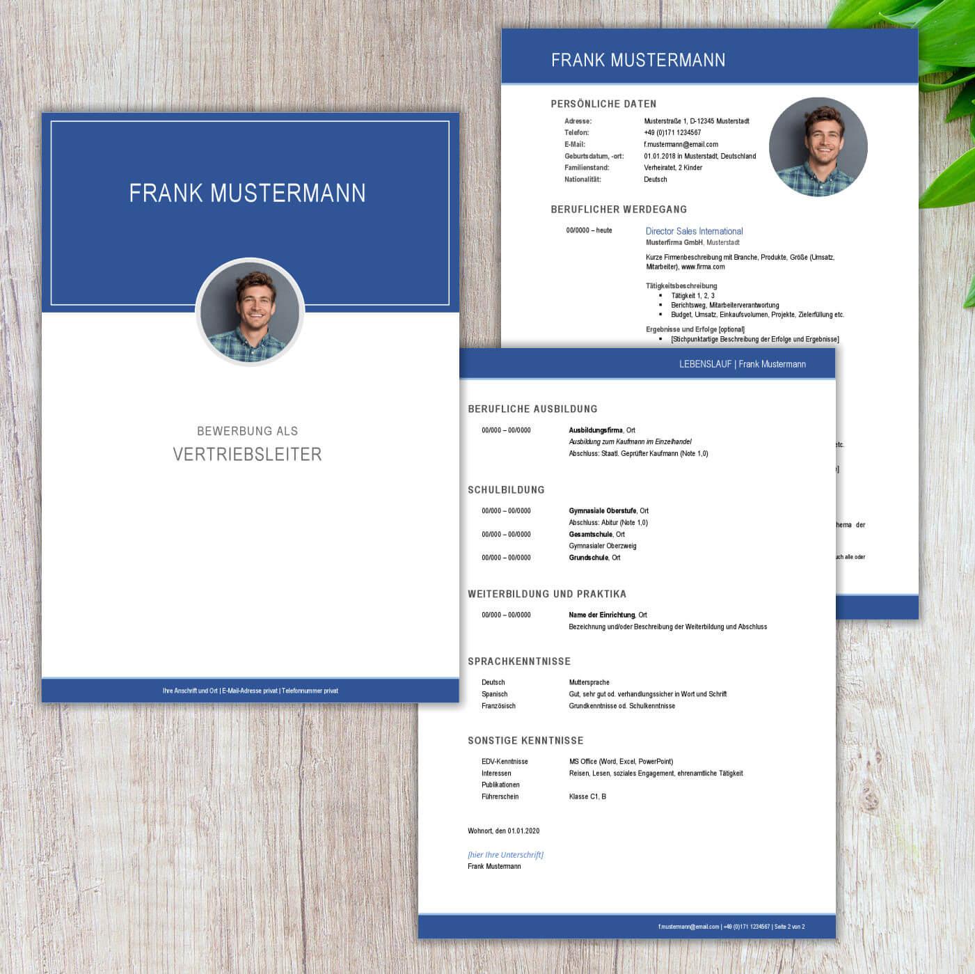 CV Lebenslauf Berlin Executive